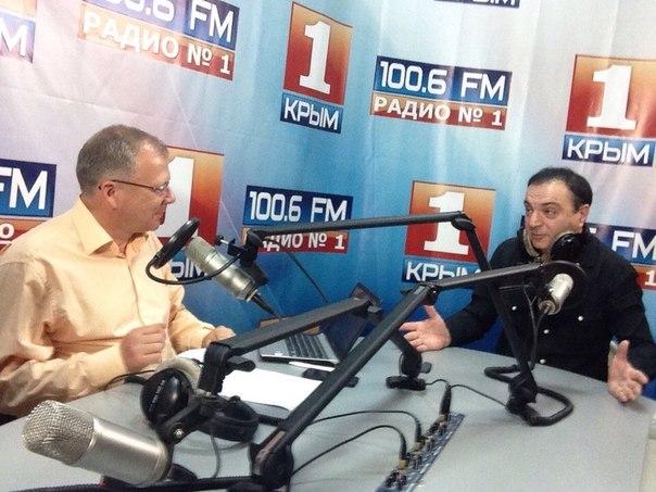 16.10.2014.Встреча с радиослушателями на Радио КРЫМ